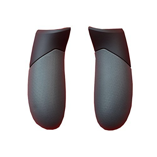 Gdlhsp Handle Grip Side Rail Replacement 1 Pair for Microsoft Xbox One Elite Controller,Right and Left Repair Cover Parts