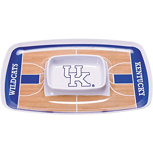 (BSI NCAA Kentucky Wildcats chip & Dip Tray, Multi)