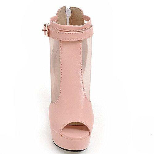 Fashion HeelSandals - Zapatos con tacón mujer Rosa