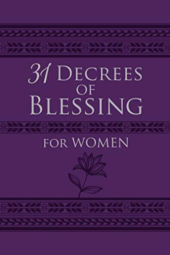Pdf Christian Books 31 Decrees of Blessing for Women