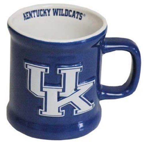 Ncaa Kentucky Wildcats Mugs - NCAA Kentucky Wildcats Ceramic Relief Logo Mug