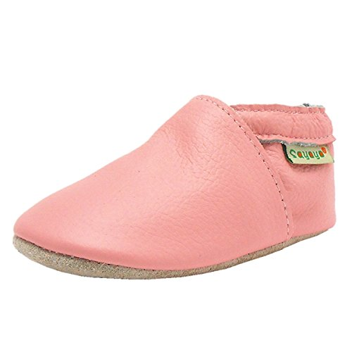 Sayoyo Soft Sole Leather First Walking Baby Shoes Toddler Moccasins