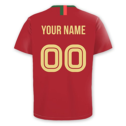 Oliver's Labels Personalized Soccer Jersey Car Decals (Portugal)