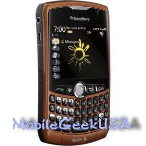 amazon com orange sprint blackberry curve 8330 phone can be rh amazon com What BlackBerry Model 8330 Sprint BlackBerry 8330 Specs