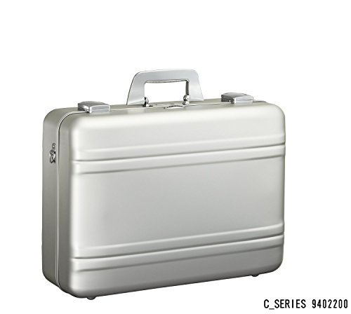 Zero Halliburton Medium Aluminum Camera Case, Attache Case in Silver ()
