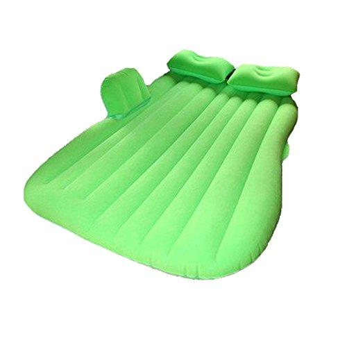 カーエアベッドエアマットレスカーマットレスSUVカーベッド B07DS1W7V3 緑 緑