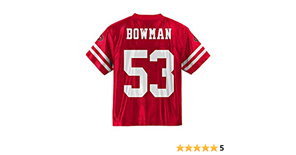 NaVorro Bowman San Francisco 49ers Red Home Player Jersey Youth