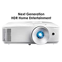 Optoma HD28HDR 1080p Home Theater Projector for Gaming and Movies   Support for 4K Input   HDR Compatible   120Hz refresh rate   Enhanced Gaming Mode, 8.4ms Response Time   High-Bright 4000 lumens