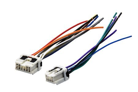 Absolute AWH160 (71-7550) Reverse Wiring Harness for Select 1995-up Nissan Vehicles Into OEM Radio -  Absolute USA
