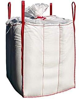 DIN EN ISO 21898 Direkt beim Hersteller kaufen Hochwertiger BigBag 60x60x60cm Sch/üttgutbeh/älter Transportsack Big Bag
