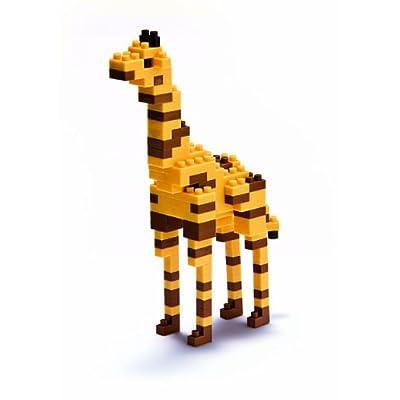 Nanoblock Giraffe: Toys & Games