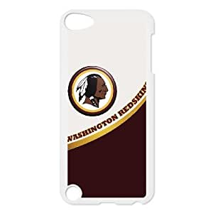 Ipod Touch 5 Phone Case Football NFL Washington Redskins Personalized Cover Cell Phone Cases GHX436931