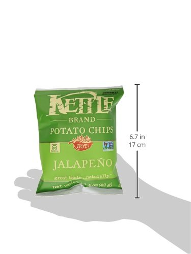 Kettle Brand Potato Chips, Jalapeno, 1.5 oz by KETTLE FOODS (Image #11)
