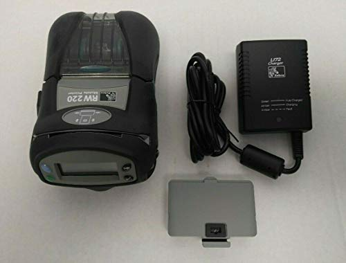 Printer Mobile Zebra Rw220 - Zebra RW220 Mobile Printer with 802.11b/g WiFi Radio and Magnetic Card Read P/N: R2D-0UGA010N-00