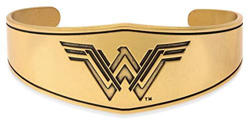 - Alex and Ani Wonder Woman Warrior Prince Shiny Silver Bangle Bracelet, Rafaelian Gold