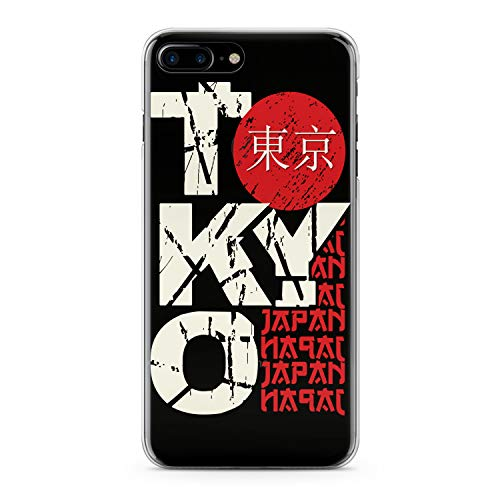 - Lex Altern TPU Case for iPhone Apple Xs Max Xr 10 X 8+ 7 6s 6 SE 5s 5 Tokyo Slim fit Design Journey Lightweight Smooth Capital Flexible Boy Clear Red Cover Japan Soft Gift Print Traveling Man White