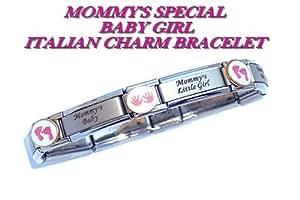 Baby Girl Italian Charm Bracelet