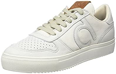 DUUO Radio, Zapatillas para Mujer, Blanco (White), 41 EU