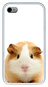 fashion For Iphone 5/5S Case Cover Guinea pig Hard shell White for For Iphone 5/5S Case Cover