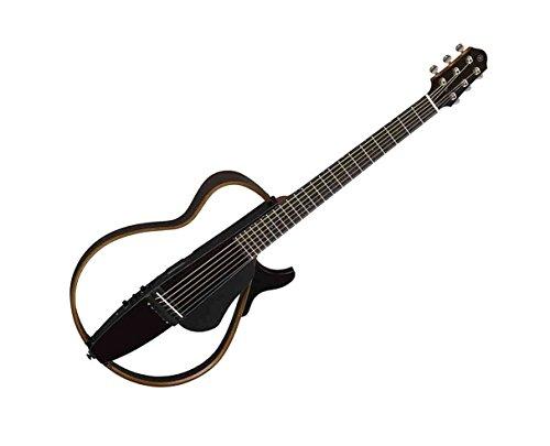 Yamaha SLG200S Steel String Silent Guitar - Trans Black