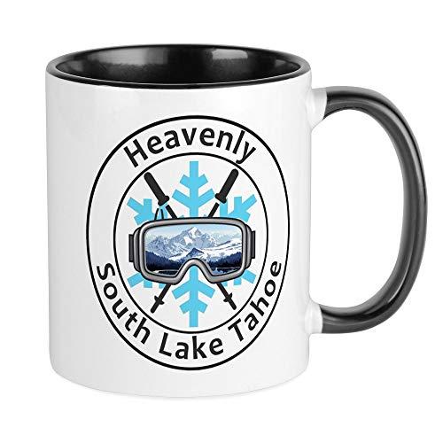 CafePress Heavenly Ski Resort - South Lake Tahoe - Ca Mugs Unique Coffee Mug, Coffee Cup (Lake Tahoe Heavenly)
