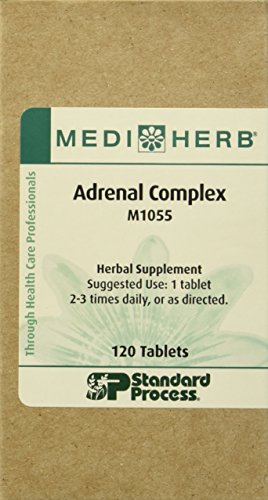 Adrenal Complex By Medi Herb 120 Tablets (Standard Process Adrenal)