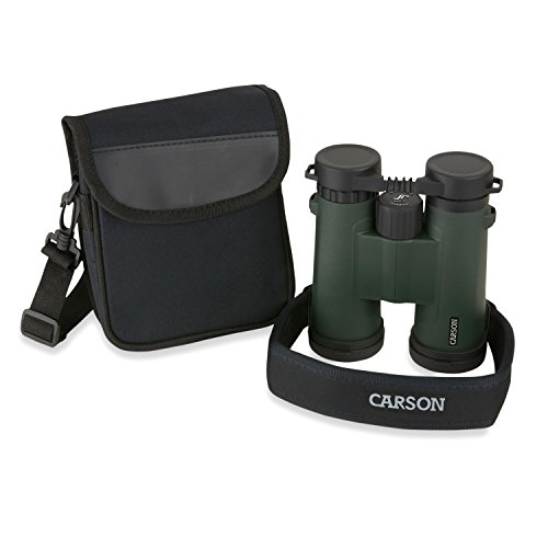 Carson JR Series 10x42mm Close-Focus Waterproof Binoculars for Bird Watching, Hunting, Sight-Seeing, Surveillance, Concerts, Sporting Events, Safaris, Camping, Travel and Outdoor Adventures (JR-042) by Carson (Image #5)