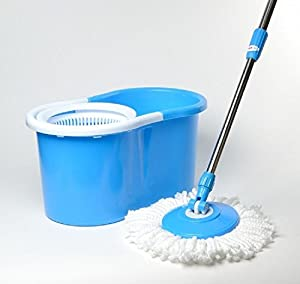 Amazon Com Mop Blue Hd Easy Life 360 Bucket Spinning