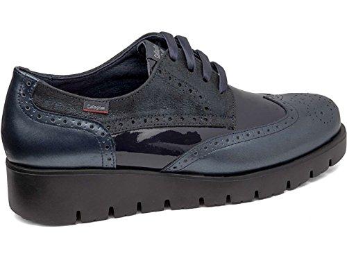 Mujer Zapatos 89813 Blu Derby Cordones Callaghan De Para nRPxwvxq8