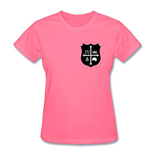 SAMMA Women's For King Country Design Cotton T Shirt