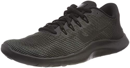 Nike Grey 2018 Anthracite Scarpe 001 Nero Black Run Laufschuh Herren Black Dark Flex Running Uomo r4Oq7rIT