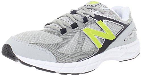 New Balance Mens MX877 Cardio Cross-Training Shoe, Silver, 41.5 EU/7.5 UK