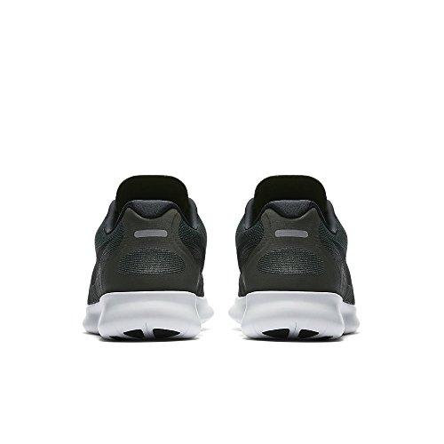 Nike Herren Free RN 2017 Dunkelgrün (Vintage Green/Sequoia/Medium Olive/Black)