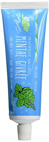 Green Beaver Toothpaste, Frosty Mint, 2.5 Ounce