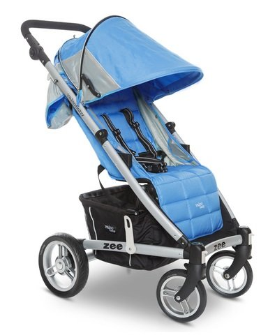 (Valco Baby 2013 Zee Single Stroller, Cloudless, 0 Plus Months)