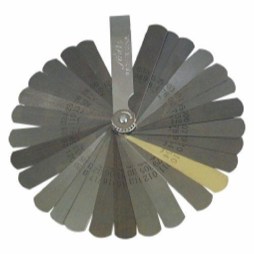 Blade Type .0015 to .035 Deluxe Feeler - Feeler Lisle Gauge