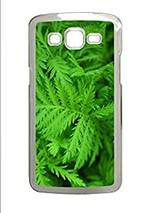 Samsung 2 7106 Case Green leaves 1 PC Samsung 2 7106 Case Cover Transparent