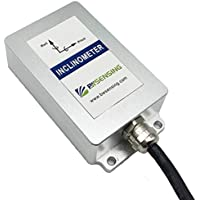 ,for Industrial Usage MEMS Tech,Anti-Vibration,IP67 Protection, /±180 Degree Accelerometer+Gyroscope+Tilt Angle Sensor WitMotion SINDT RS485 Modbus High-Precision MPU6050 Digital Inclinometer