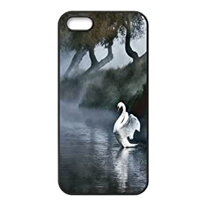 JenneySt Phone CaseWhite Swan - Ballet Dance For Apple Iphone 5 5S Cases -CASE-1