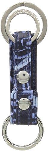 Vera Bradley Iconic Three Times a Keychain, Signature Cotton, Indio, One Size