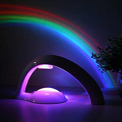 Led Rainbow Projector - Rainbow Projector LED Light Reflection - Rainbow Maker for Children Gift (Rainbow Kids Toys)