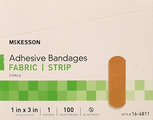 McKesson Medi Pak Performance Bandage Adhesive Fabric Knuckle, 1.5