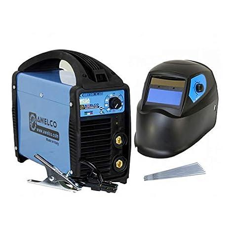 Pack Estación de soldadura 160 A Inverter + pasamontañas 9/13 LCD + máscara de