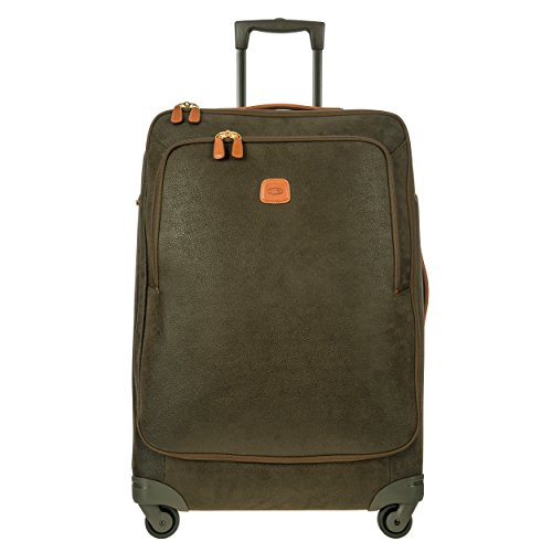 - Bric's Life 30 Inch Large Spinner Suitcase, Olive