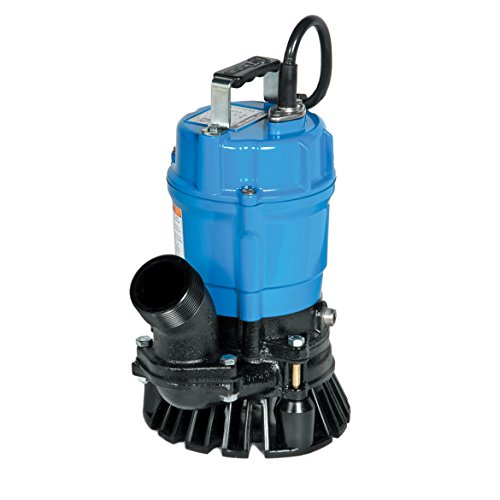 Tsurumi HS2.4S 2-Inch 1/2 HP Semi-Vortex Submersible Trash Pump with Agitator by Tsurumi