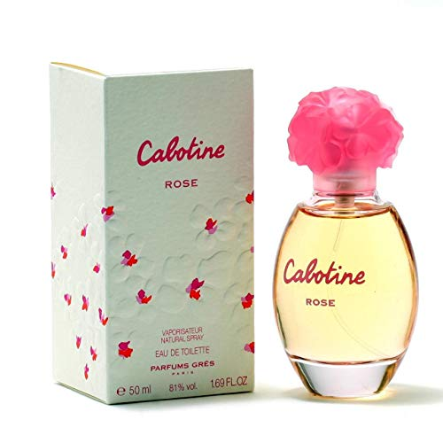 - Cabotine Rose By Parfums Gres For Women. Eau De Toilette Spray 1.69 Oz / 50 Ml
