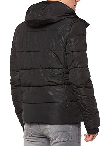 Negro Superdry Deportiva Para Chaqueta Sports Hombre Puffer qqY8gH0