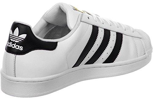 adidas Superstar, Sneakers da Uomo Bianco Nero