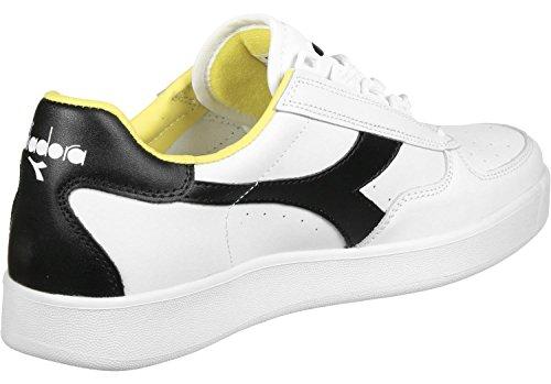 Pompes black À Yellow Elite B Mixte Plateforme Plate cyber Adulte Diadora White 7qREnAwzt