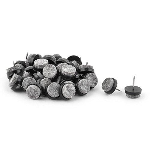 Amazon.com: eDealMax 40pcs uñas Pin de Metal Redonda ...